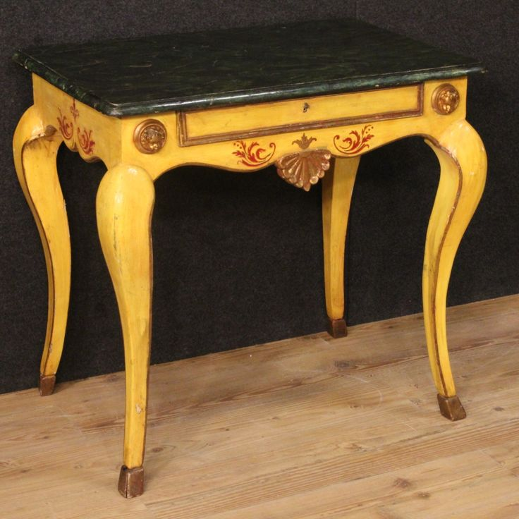 1350€ Italian lacquered, gilded and painted side table. Visit our website www.parino.it #antiques #antiquariato #furniture #antiquities #antiquario #sidetable #fauxmarble #table #tavolo #golden #gold #decorative #interiordesign #homedecoration #antiqueshop #antiquestore #painted #paint #lacquer #lacquered