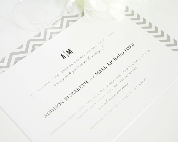 Urban Vintage Wedding Invitations - Wedding Invitations by Shine