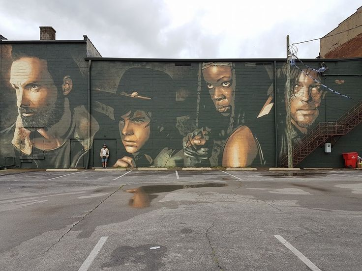 1000 images about the walking dead on pinterest daryl for Mural walking dead