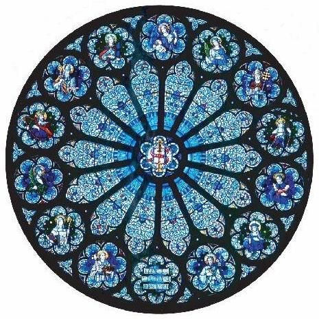 17 beste afbeeldingen over roosvensters op pinterest for Rose window design