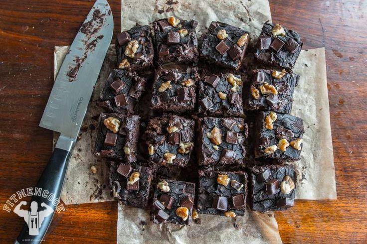 Black Bean Brownies without flour | Fit Men Cook