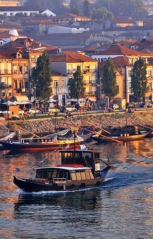 Gaia River, Porto, Portugal #iloveporto