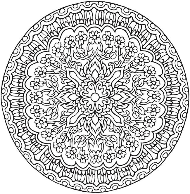 25 Unique Mandala Coloring Ideas On Pinterest