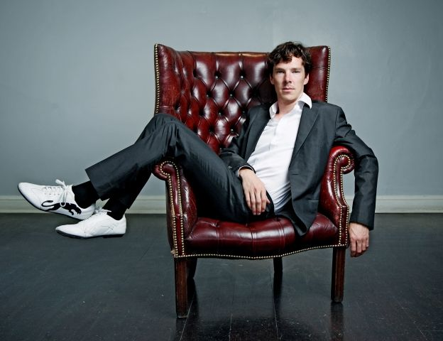 Benedict Cumberbatch. Best English name on the planet: Benedictcumberbatch, Long Legs, But, Chris Mcandrew, Sherlock Holmes, People, Leather Chairs, Benedict Cumberbatch, Mcandrew Photoshoot