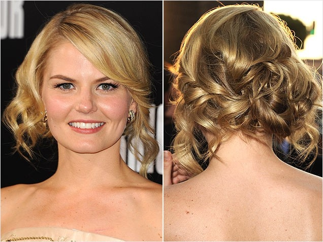 Jennifer Morrison's Hair. We love the curls and tendrils!
