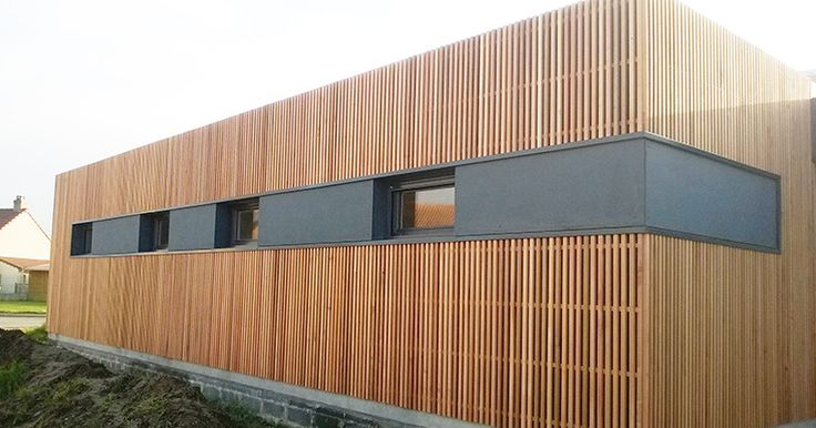 Best 25 house cladding ideas on pinterest exterior - Bardage red cedar ...