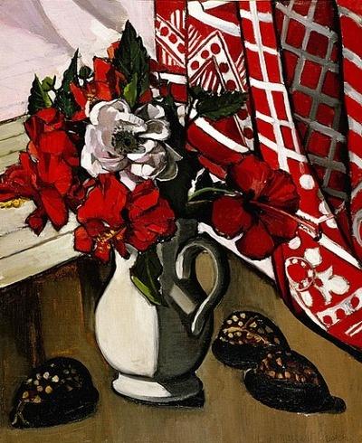 peira:    stilllifequickheart:  Margaret Preston: Double Hibiscus (1929)