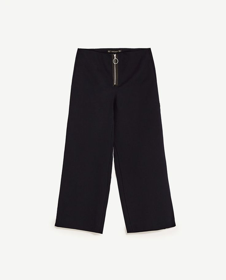 Image 8 of PALAZZO TROUSERS WITH ZIP from Zara