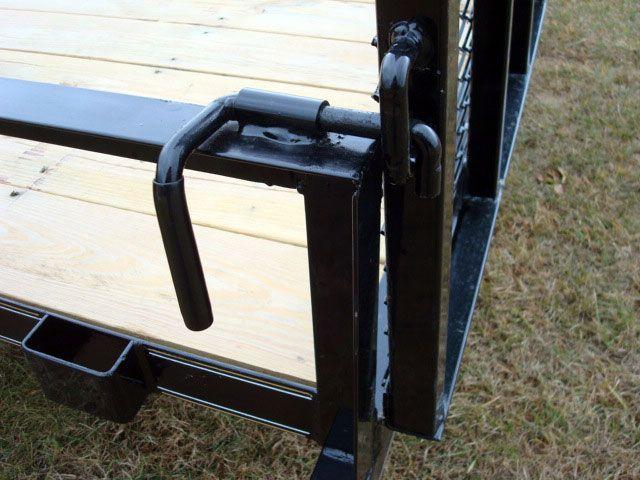 Single Axle Utility Trailer w/Side Ramp Pkg - Johnson Trailer Co.                                                                                                                                                                                 More