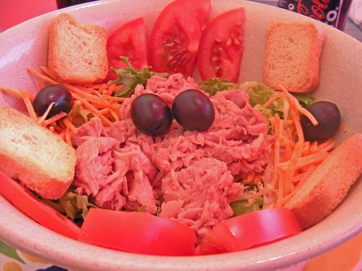 O Barriguinhas: Salada de Atum e Tomate