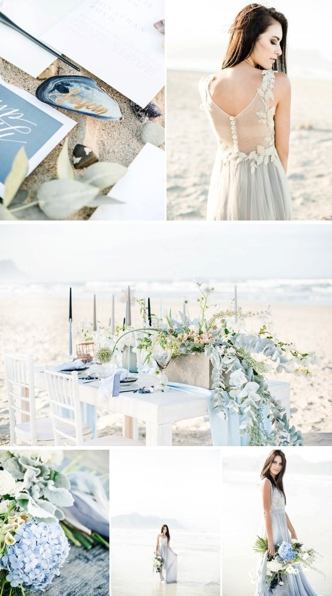Washed Up Beach Wedding Inspiration | SouthBound Bride