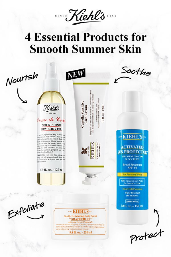 Your List Of Essential Skincare Products For Smooth Summer Skin Gently Exfoliating Body Scrub Creme De Corps Nourishing Dry Body Dry Body Oil Skin Care Skin