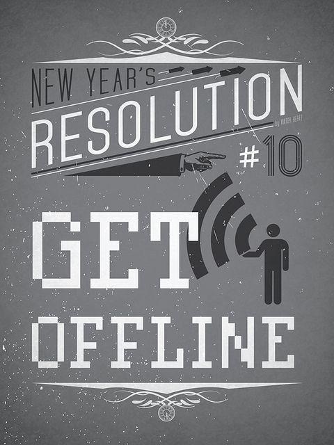 New Year's Resolution #10: Get offline   Flickr - Photo Sharing!