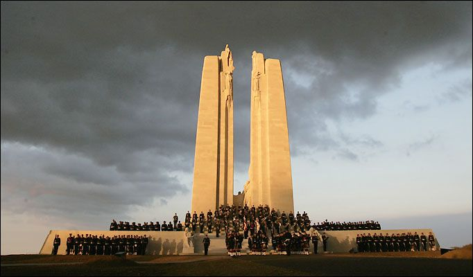 National Day Of Remembrance Of The Battle Of Vimy Ridge