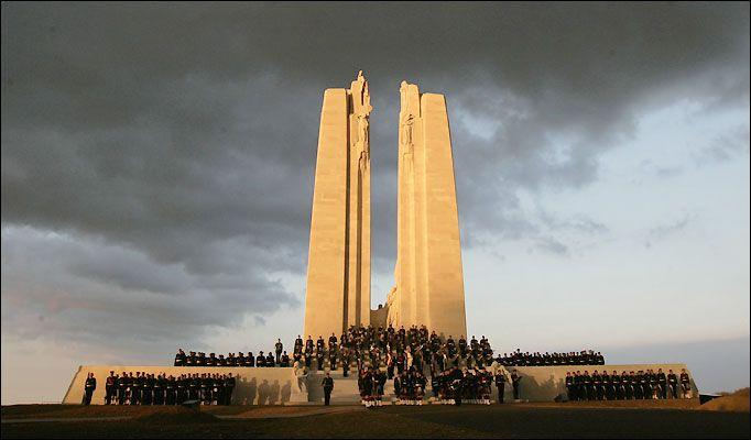 Canadian Vimy Ridge Memorial | Artois, France