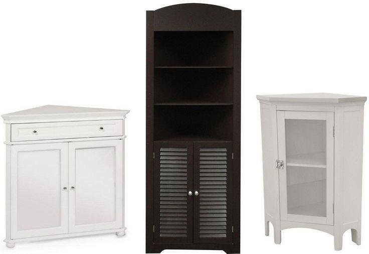 Bathroom corner storage cabinets - B