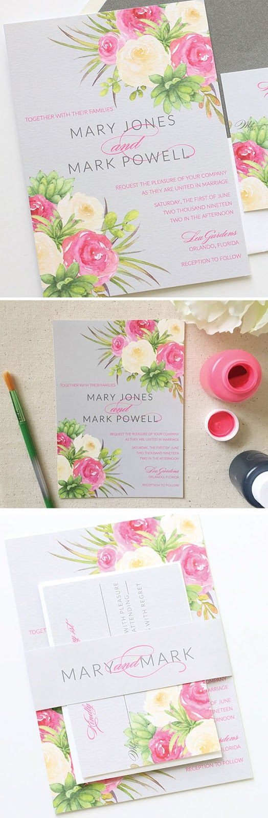 652 best Wedding Invitations | DIY Party Invitations | Paper Goods + ...