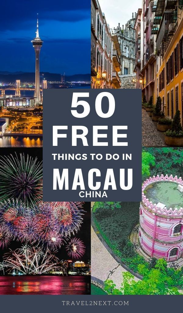 free things to do in macau