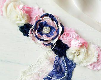 Champán rosa faja de maternidad fotografía de boda prop