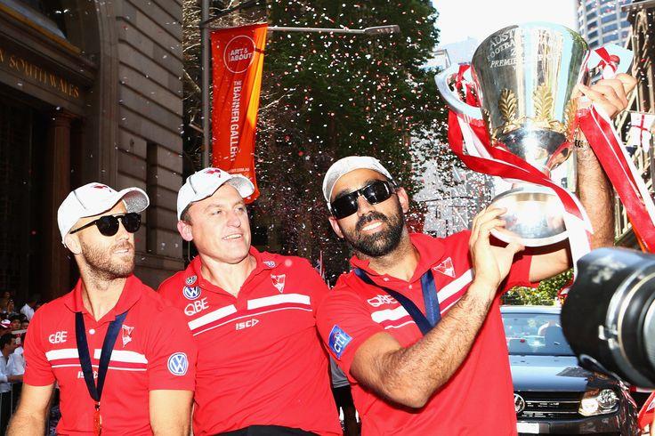 A Lap Of Honour For Sydney Swans Legend Adam Goodes