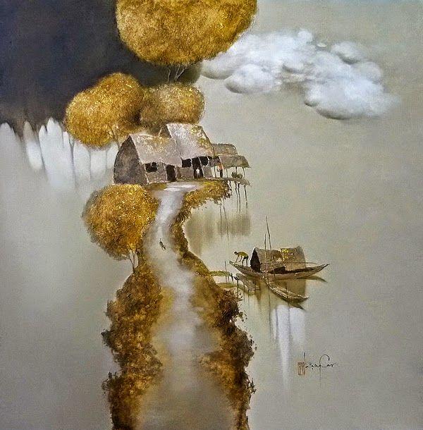 Творчество вьетнамского художника Dang Van Can. Обсуждение на LiveInternet - Российский Сервис Онлайн-Дневников