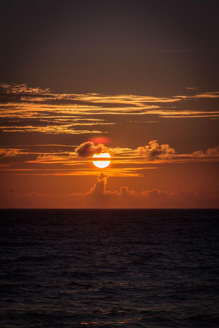 Sunset from a beach in Saud, Pagudpud, Ilocos Norte.