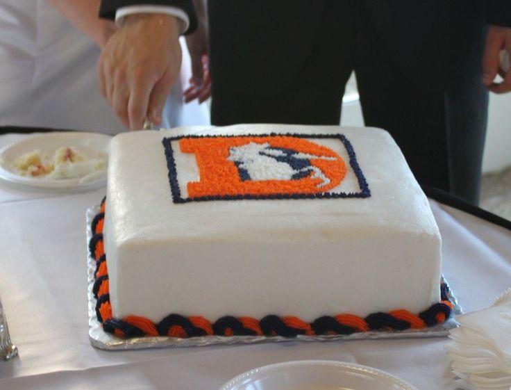 Denver Broncos Groom's Cake on Cake Central