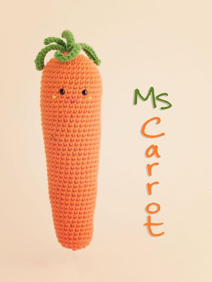 Amigurumi Carrot - FREE Crochet Pattern / Tutorial