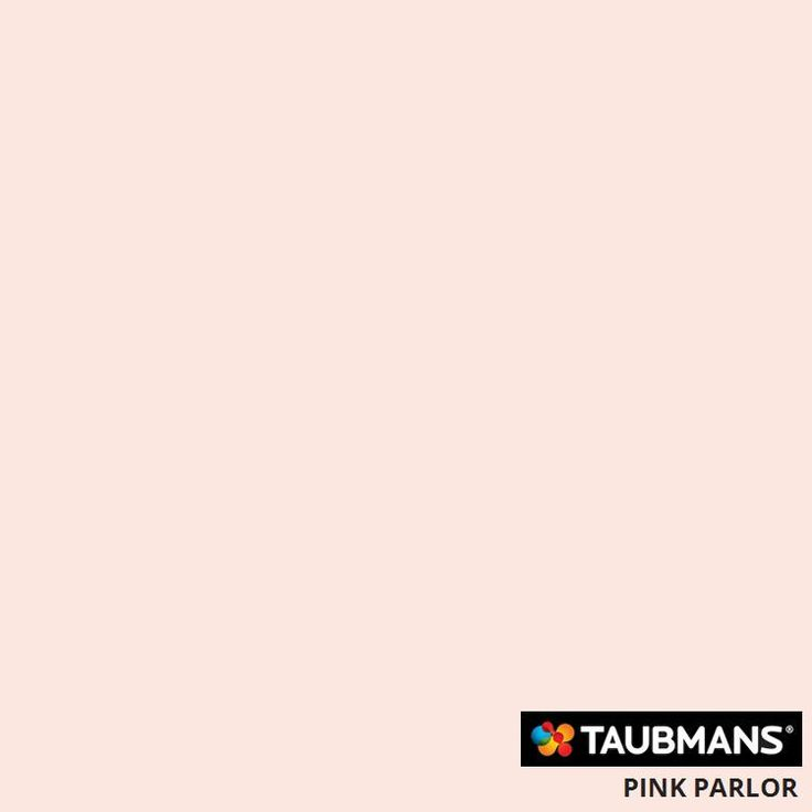 #Taubmanscolour #pinkparlor