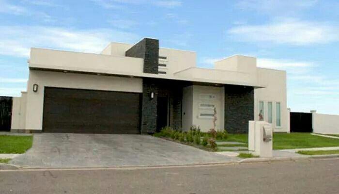Un piso fachadas de casas pinterest for Arquitectura minimalista casas
