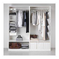 Kombinationen ohne Türen - PAX System - IKEA