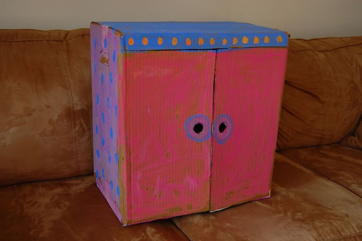 ikat bag: Cardboard Wardrobe