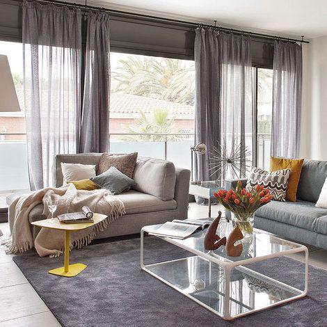 M s de 25 ideas incre bles sobre cortinas grises en for Cortinas grises