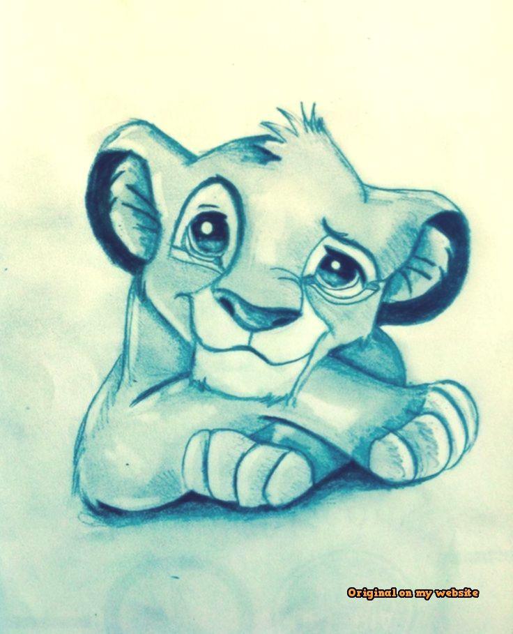 König Der Löwen Zeichnen