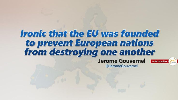 Ironic that the EU was founded to prevent European nations from destroying one another. #Eurogroup @JeromeGouvernel