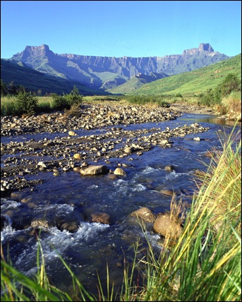 Amphitheatre, Drakensberg Mountains Natal, South Africa