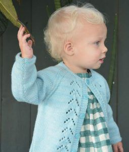 Merel - Cardigan Knitting Pattern for 2 year olds