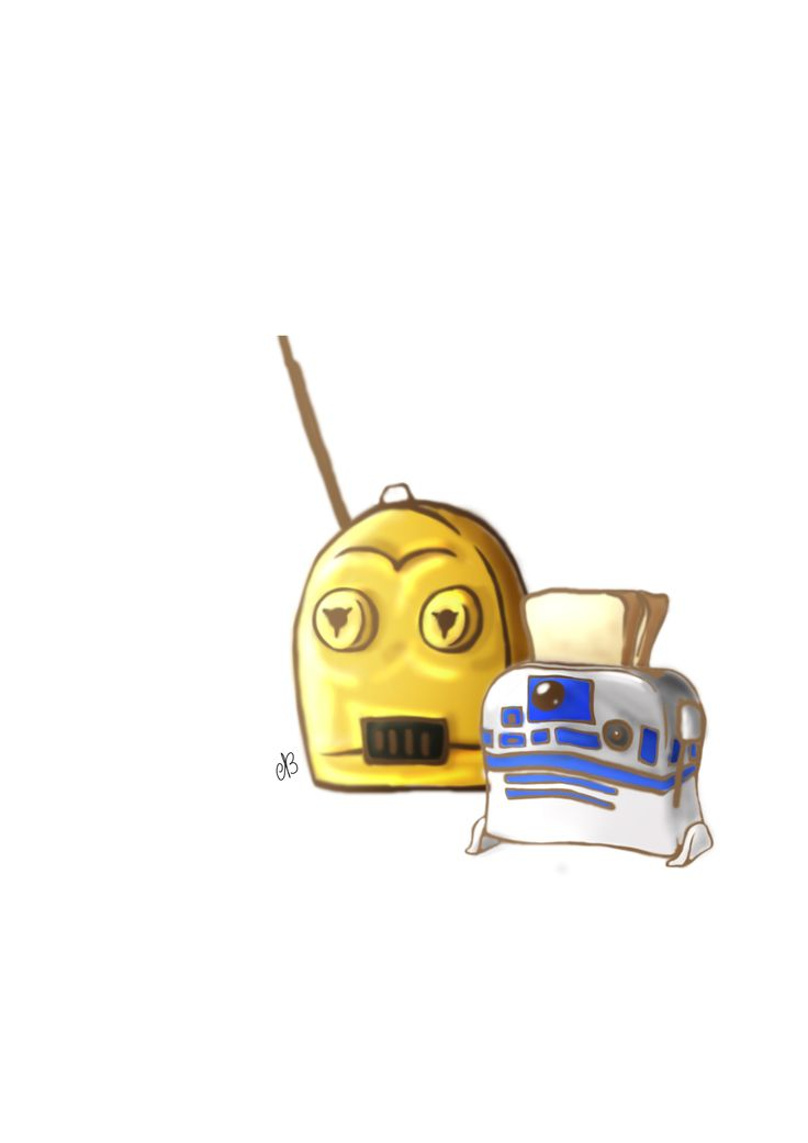 R2-D2 & C3P0 - Star Wars
