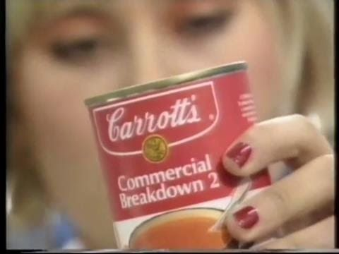 Carrott's Commercial Breakdown 2 - 27th December 1991
