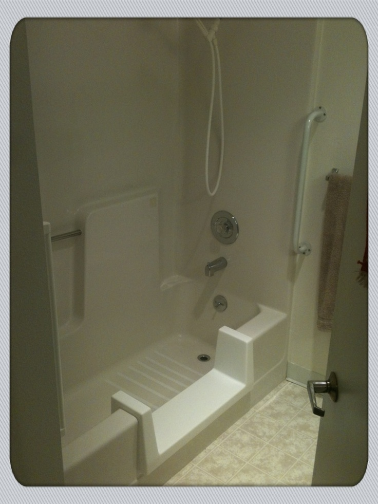 Quick Easy Entry Shower Conversion Patented Walk Thru