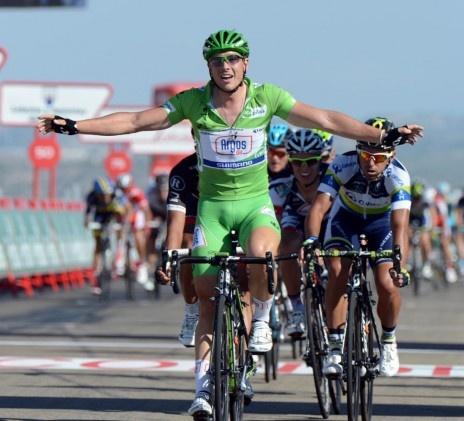 John Degenkolb wins stage 7. His third stage win of the 2012 Vuelta a España.