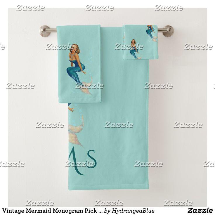 Mermaid Guest Towels: Best 25+ Monogram Towels Ideas On Pinterest