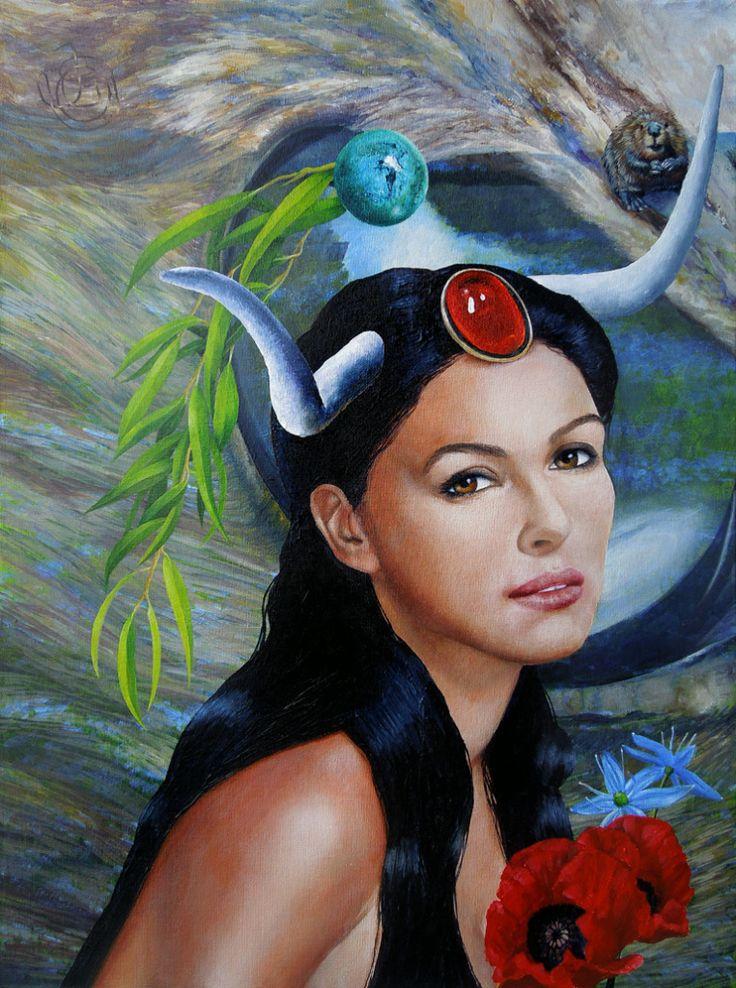 taureau par Johanna Uribes