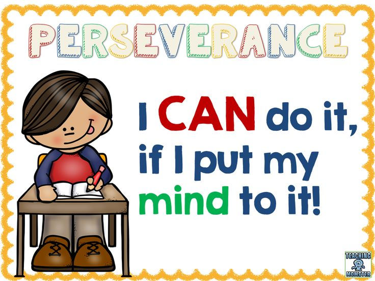 Image result for perseverance for children
