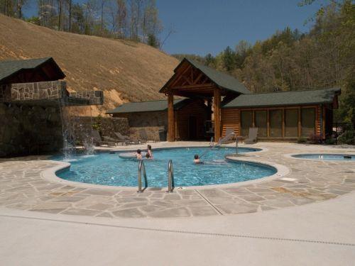 17 best images about my dream gatlinburg rental cabin on - Gatlinburg falls resort swimming pool ...