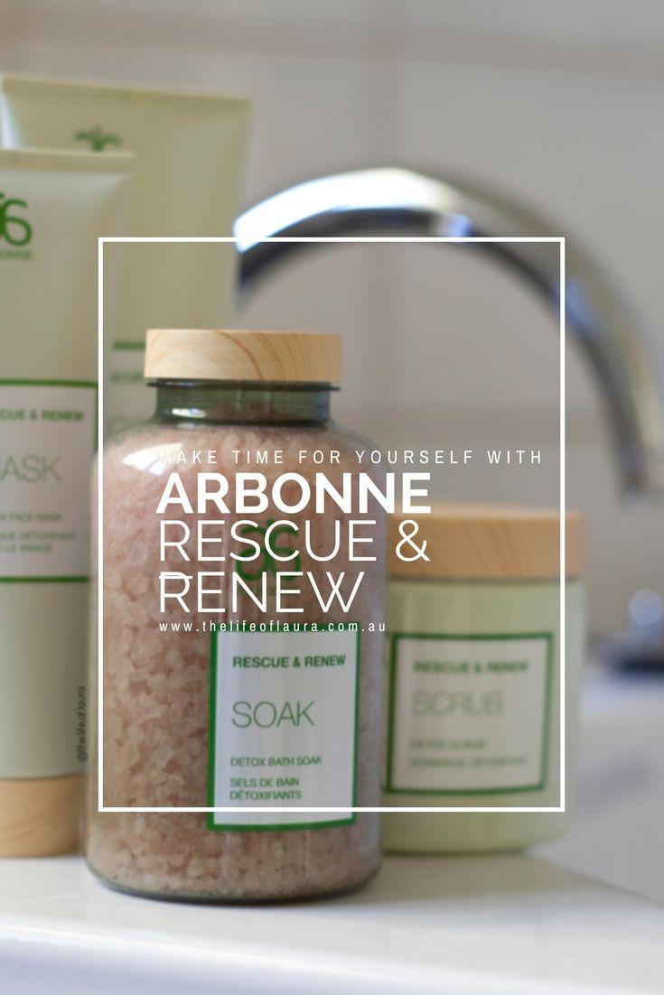 Arbonne Rescue and Renew Pinterest
