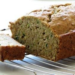 This is Lemon Zucchini Bread. It goes great with just about anything.