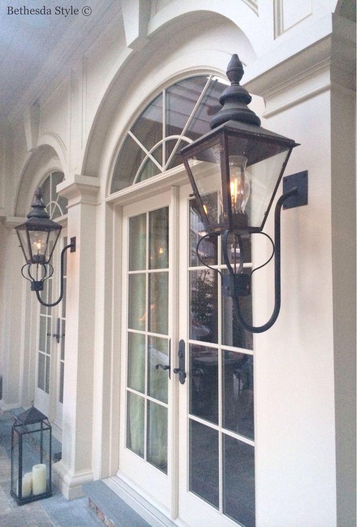 Best 25 gas lanterns ideas on pinterest brick pavers exterior lighting fixtures and farm for House exterior lights