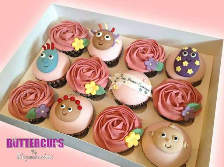 In The Night Garden cupcakes made by Buttercups By Bezmerelda