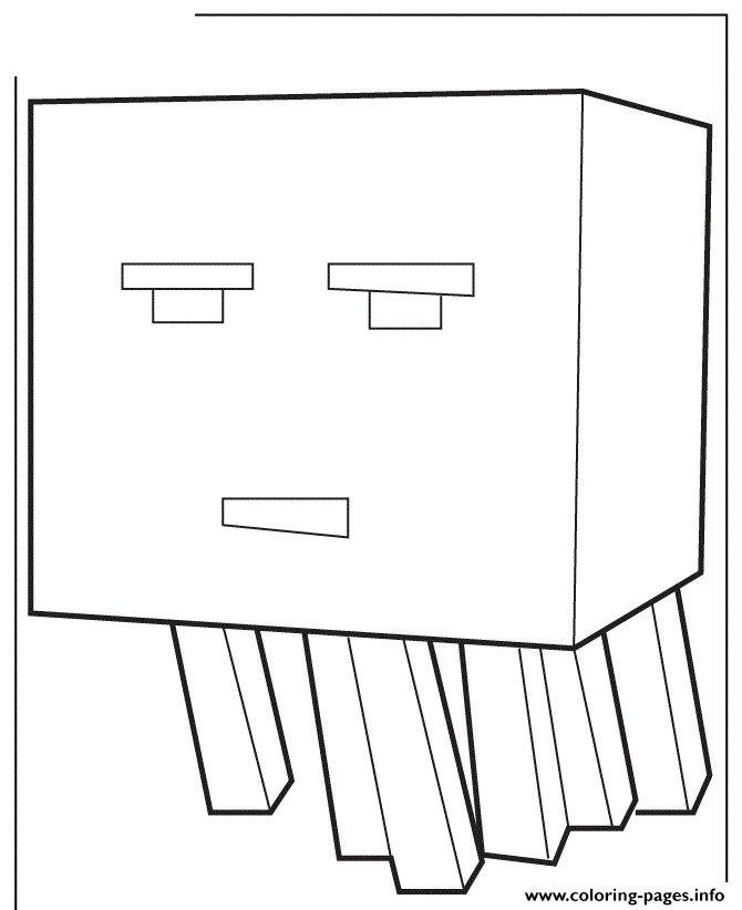 mutant minecraft coloring pages online - photo#44